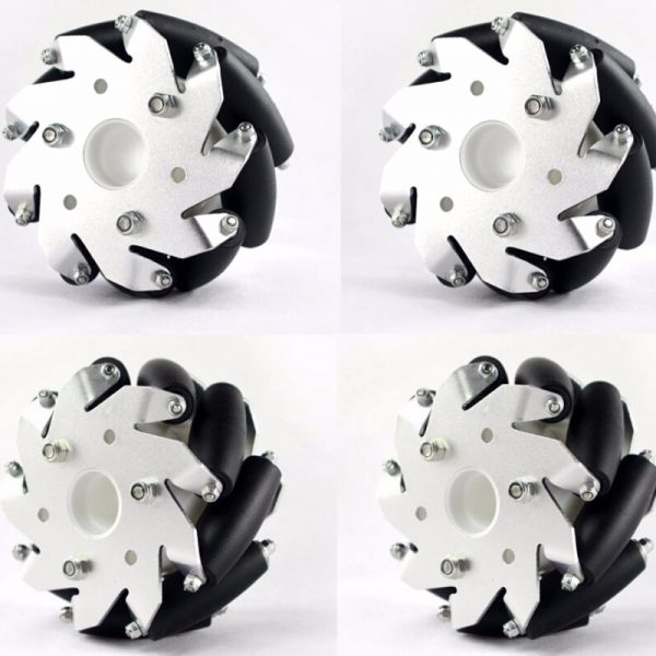 Casterbot 100mm Mecanum wheels Load Capacity 30kg for AGV Robot Car(4pcs/Packet)