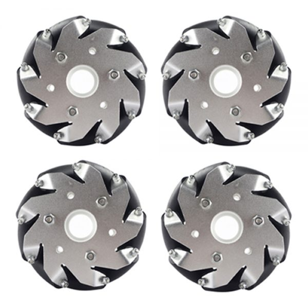 4 inch Mecanum wheels 100mm Load Capacity 30kg with Bearing
