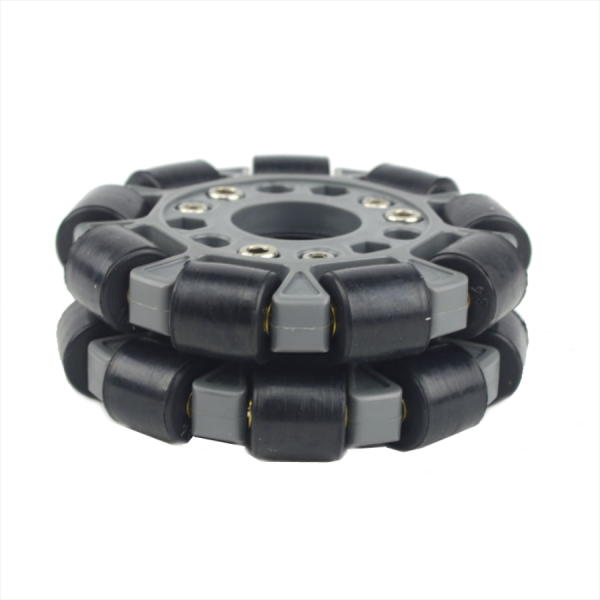 100mm Omnidirectional Wheel (Brass Bearing for Rollers)