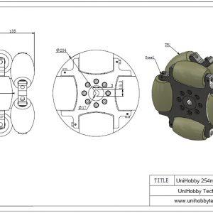 10 inch Omni Wheels 254mm Heavy Duty Omni-directional wheels,Load capacity:500KG/pcs