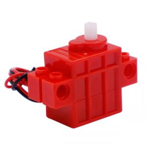 Programmable DC Motor Building Block 70 RPM for Microbit Robot Compatible with Lego