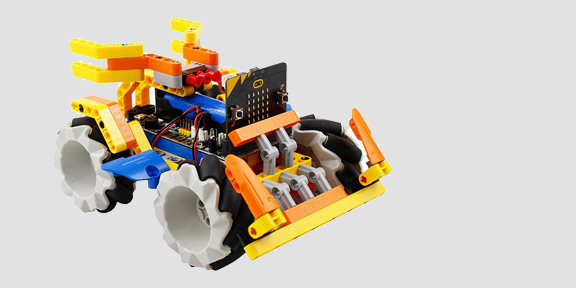 CasterBot Mecanum Wheels use for Omnibit Robot