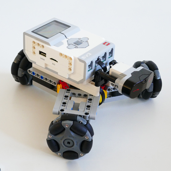 CasterBot Omnidirectional Wheels use for lego ev3
