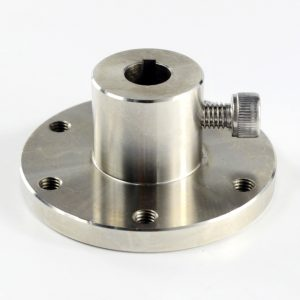 CasterBot 10mm Coupling with Keyway CB18029 Stainless Steel Key Hub for Mecanum Wheels