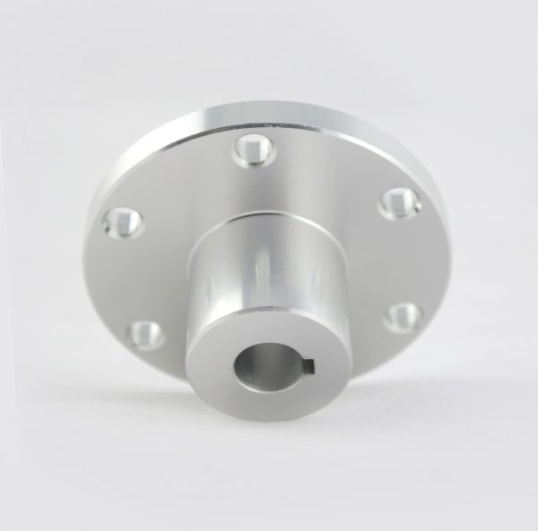 CasterBot 10mm Keyway Coupling Aluminum Hubs CB18025 for Mecanum Wheels