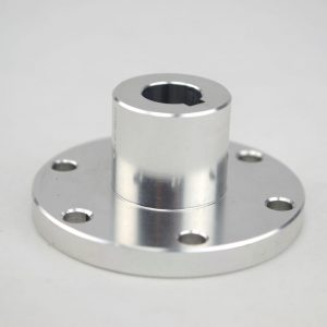 CasterBot 12mm Key Coupling Aluminum Hub CB18017 for Mecanum Wheels