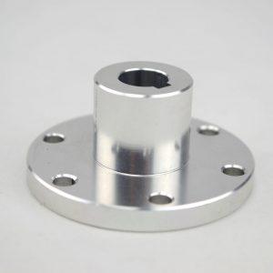CasterBot 12mm Key Coupling Aluminum Hub CB18017 for Mecanum Wheels