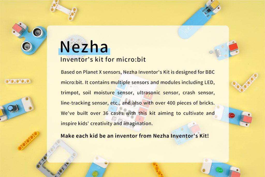 Micro:bit NEZHA Inventor's Kit(without micro:bit board)
