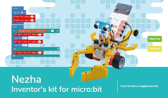Nezha Inventors kit for micro:bit