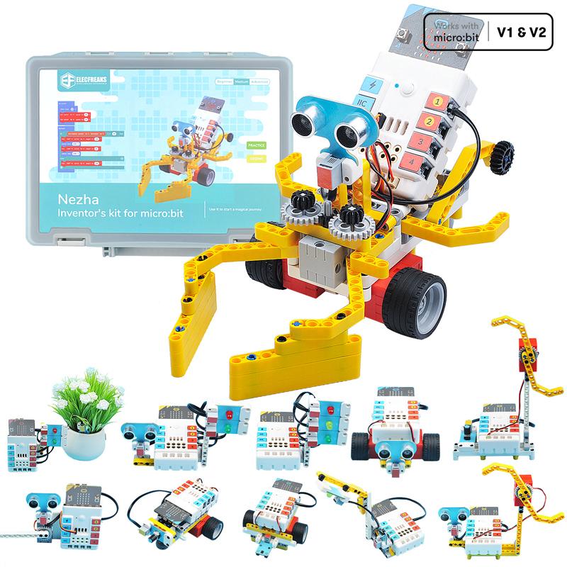 Nezha Inventor Kit Introduction